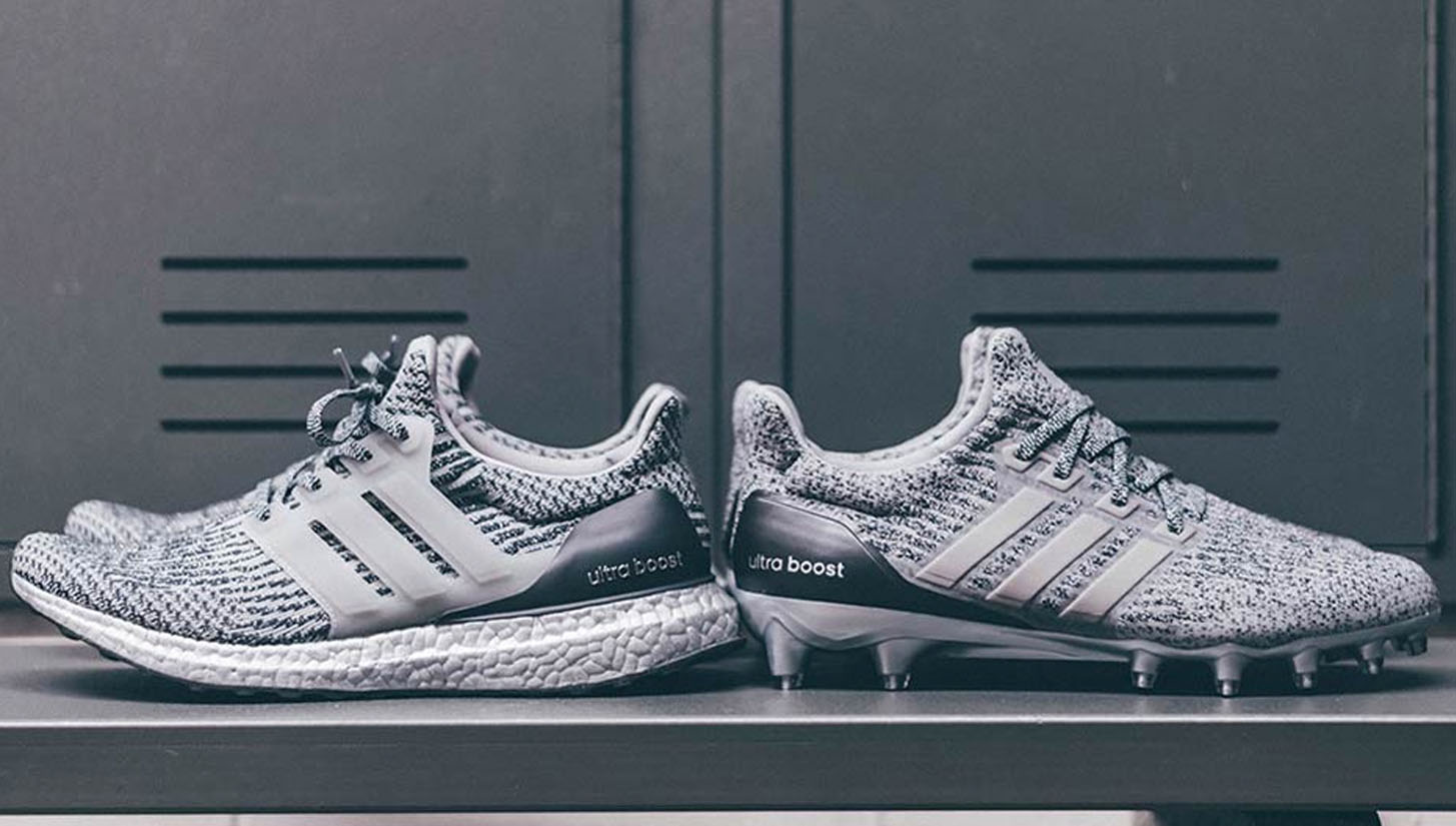 adidas unveil the  Ultra Boost Football Cleat  as part of the  Silver Pack   - SoccerBible. 05c02fbde