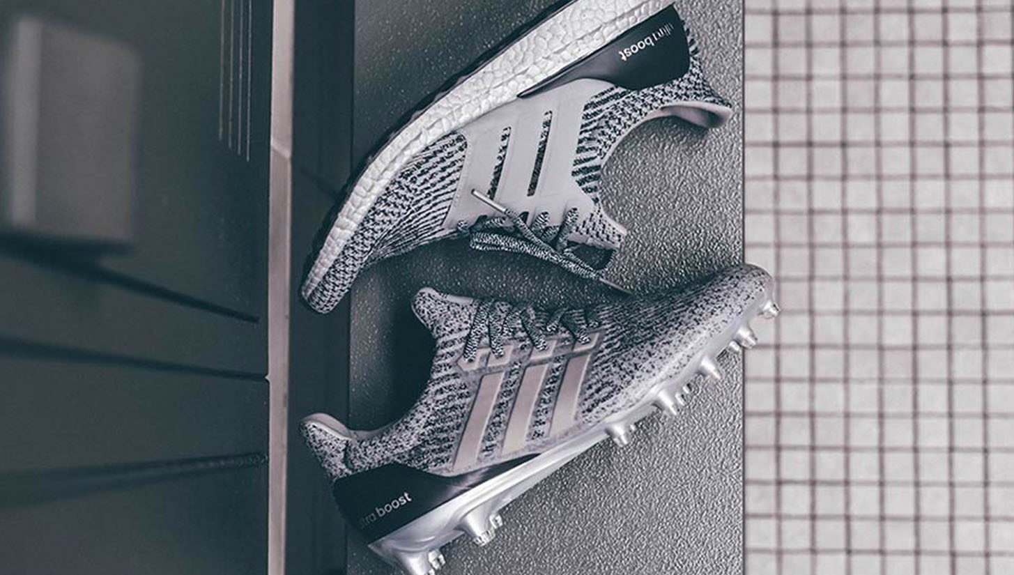 adidas unveil the  Ultra Boost Football Cleat  as part of the   ... 4b9903856