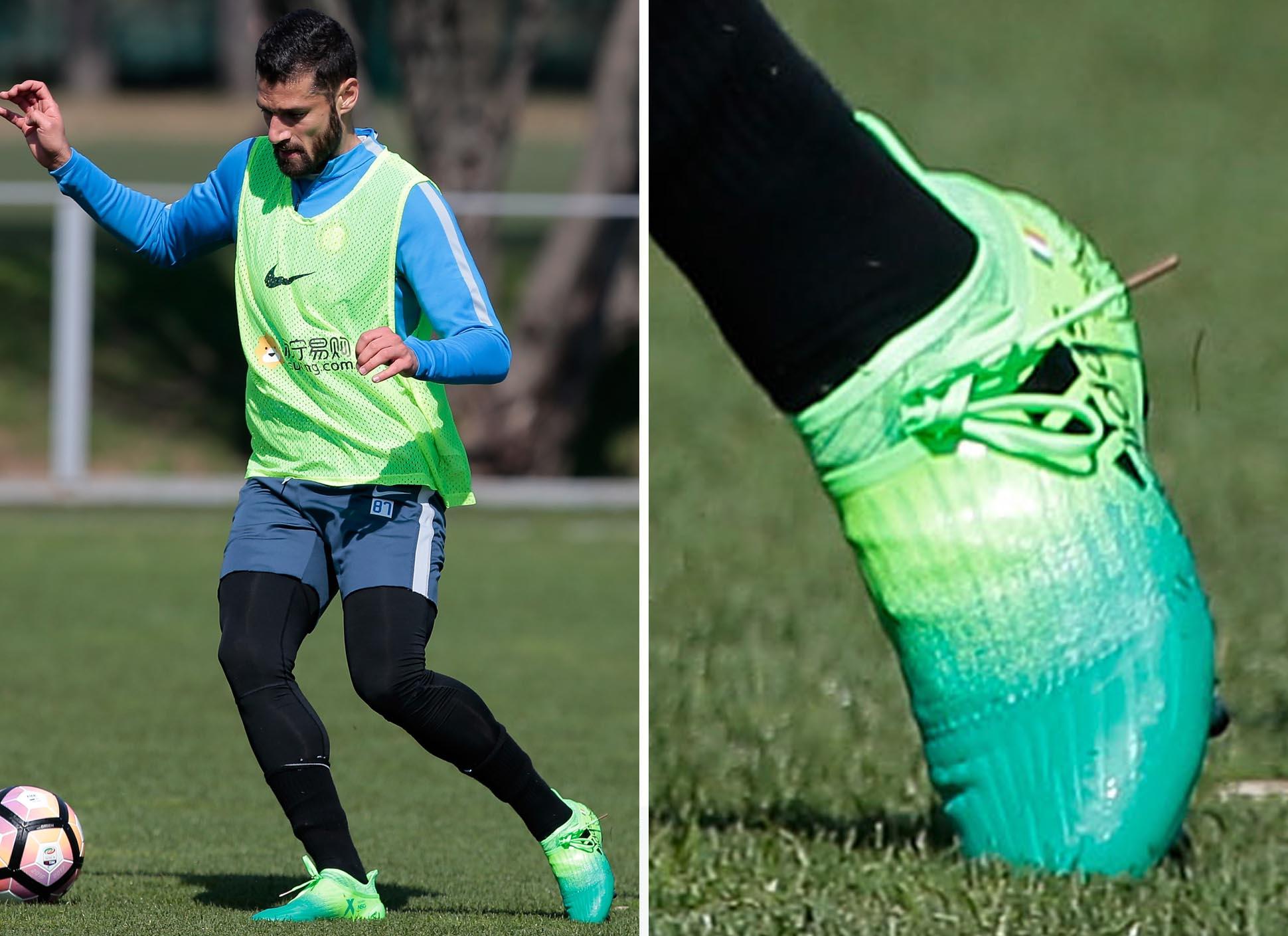 Antonio Candreva Trains In Upcoming adidas Colourway - SoccerBible. c39be1030