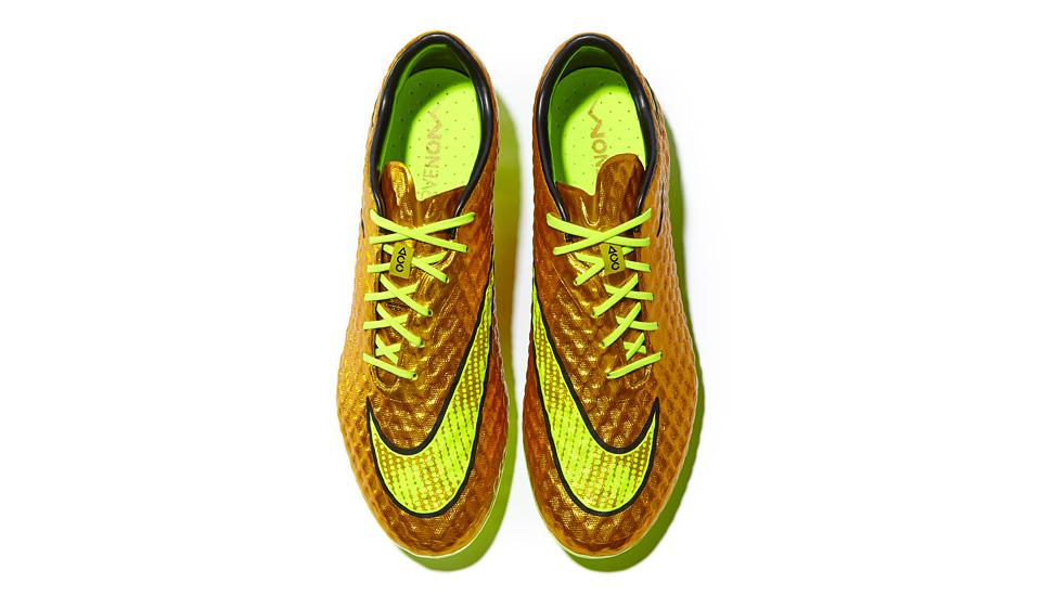 Nike Launch Gold Neymar HyperVenom - SoccerBible