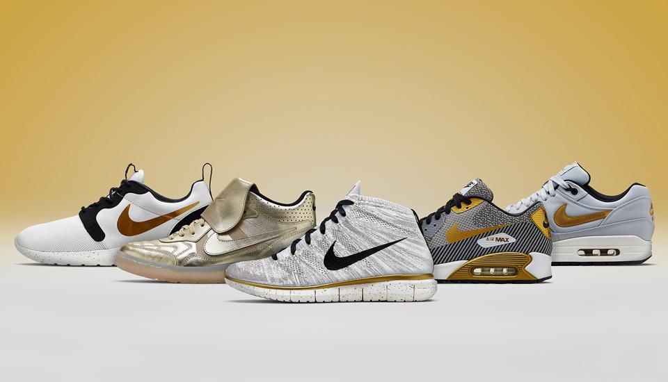 buy online af2db 90b4e Nike NSW Gold HyperVenom Collection