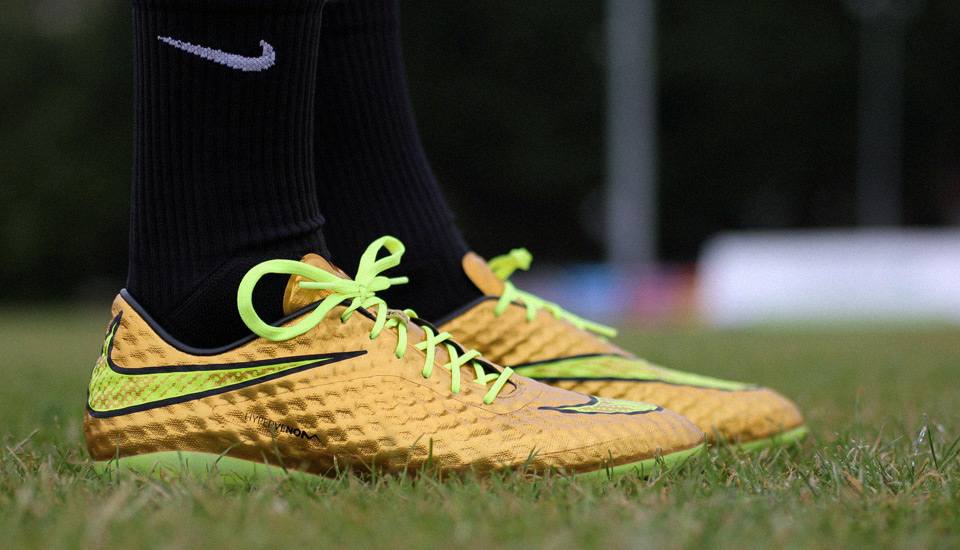 tout neuf 4638e b7d18 Laced Up: Nike HyperVenom Gold - SoccerBible