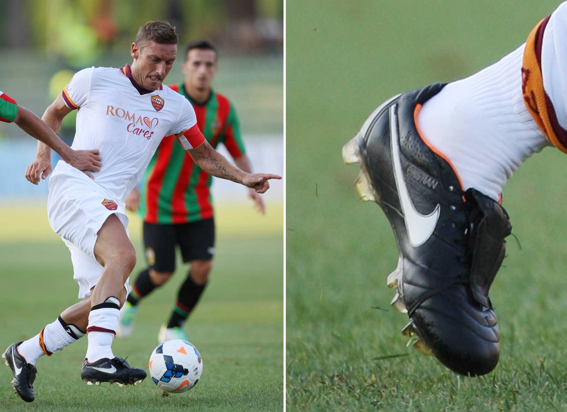 Francesco Totti Football Boot Timeline - SoccerBible
