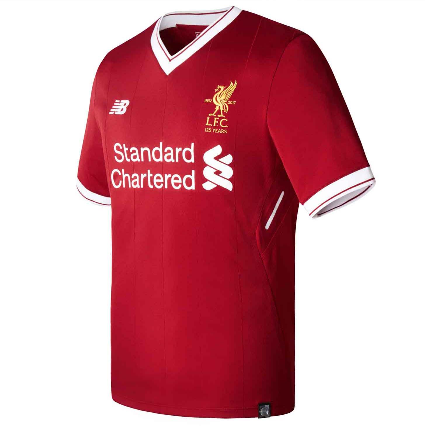 New Balance Launch Liverpool 2017 18 Home Shirt - SoccerBible. d538b9275