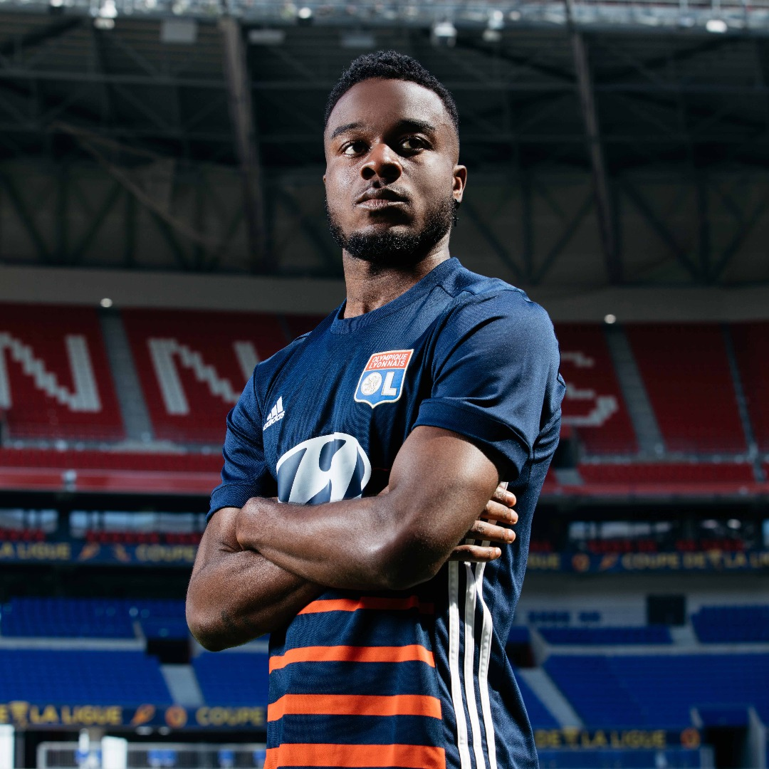 Olympique Lyonnais 17 18 Away Shirt by adidas - SoccerBible. adc6f9d77