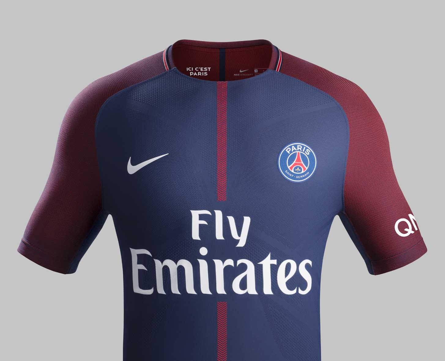 PSG 2017 18 Nike Home Shirt