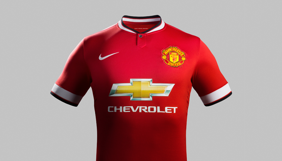 Nike Manchester United 14 15 Home Kit Soccerbible