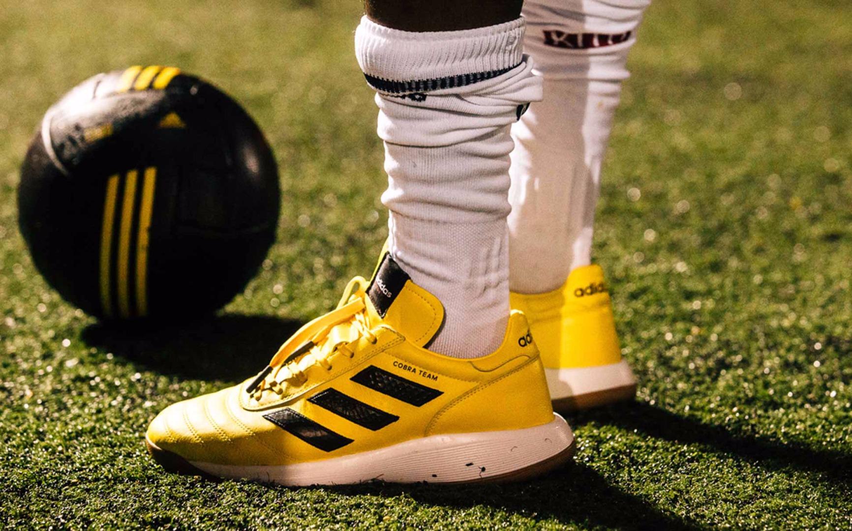 big sale 6644a 97340 KITH Cobras x adidas Football Lookbook