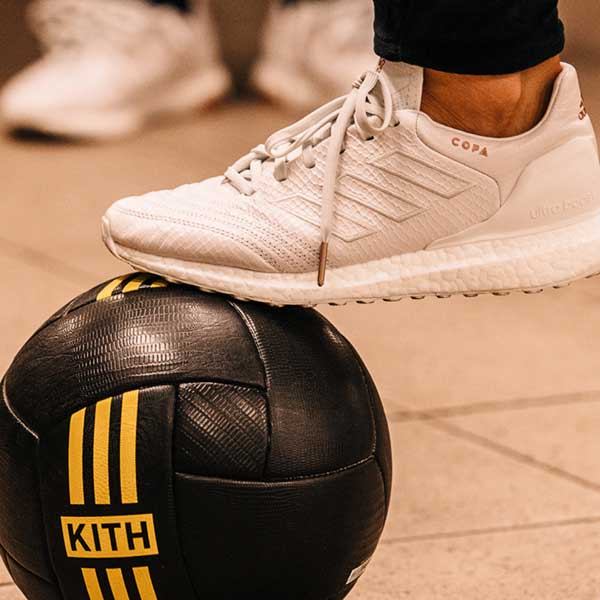 big sale 6644a 97340 KITH Cobras x adidas Football Lookbook