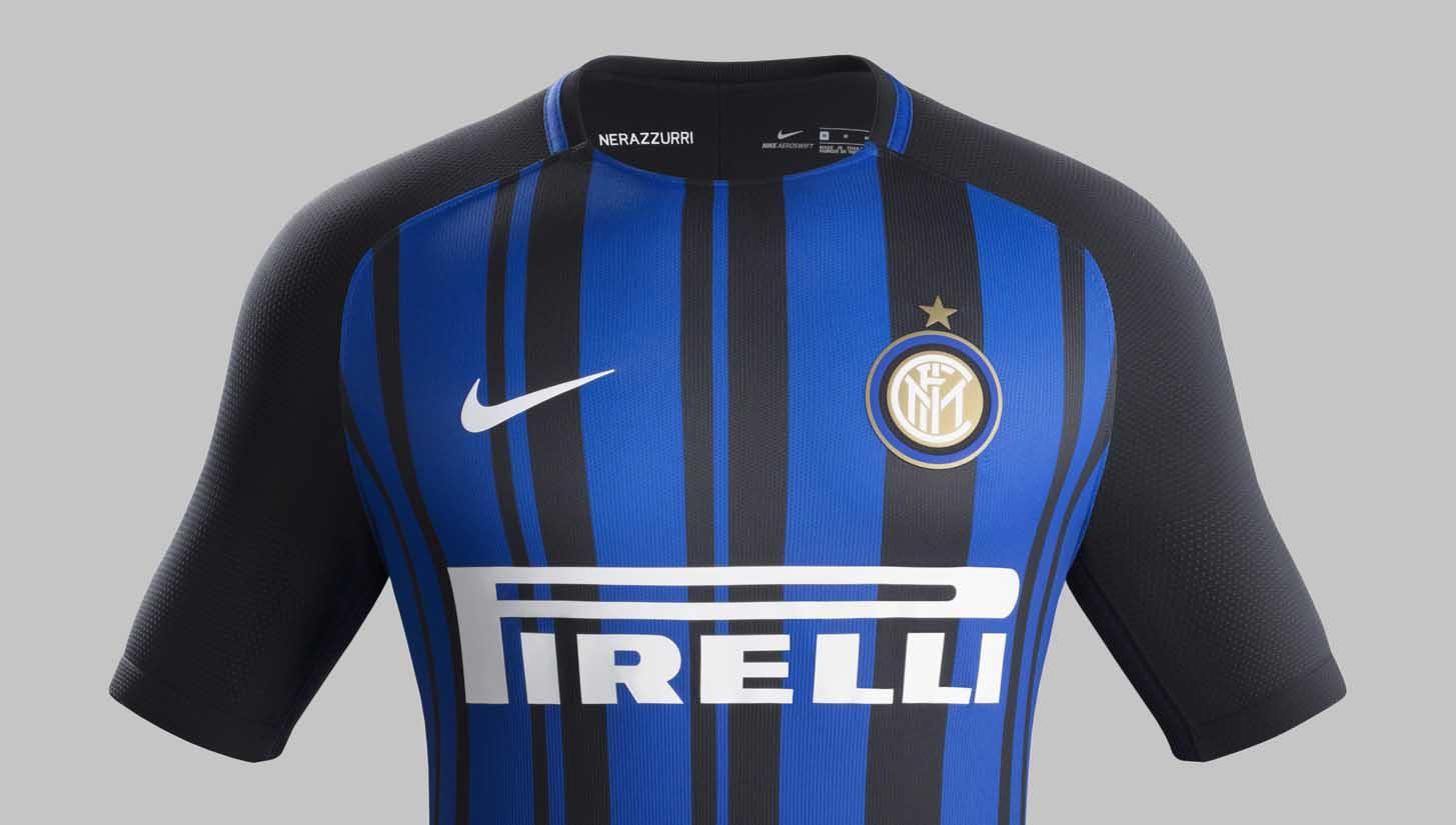 c1d1ab2c187 Inter Milan 2017 18 Nike Home Shirt - SoccerBible