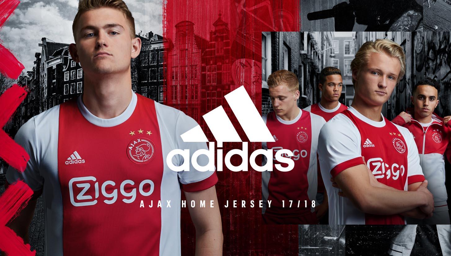 Ajax Amsterdam training sweatshirt 201718 Adidas