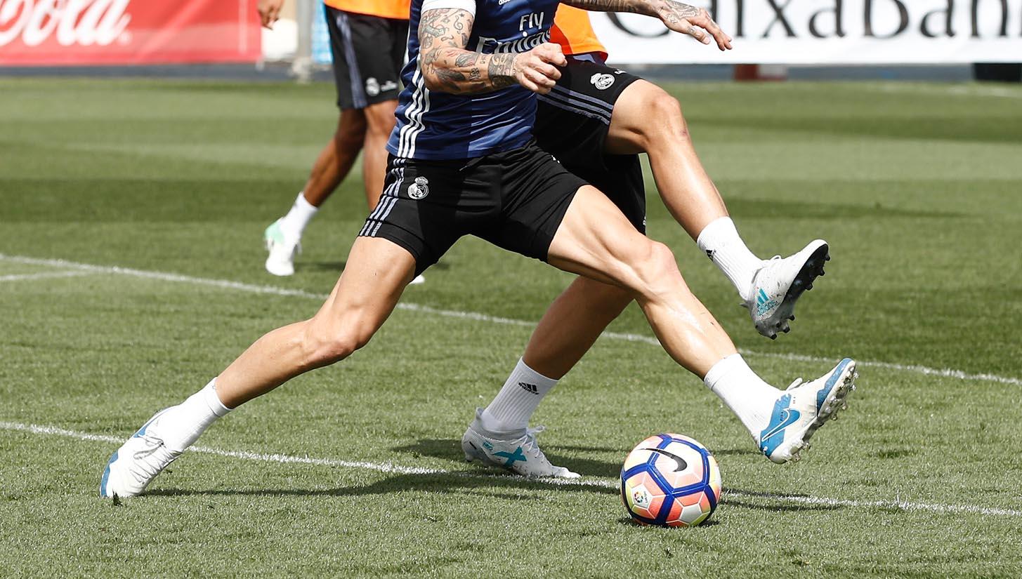 5df7597421d3 Alvaro Morata Trains In Next-Generation adidas X Football Boots -  SoccerBible.