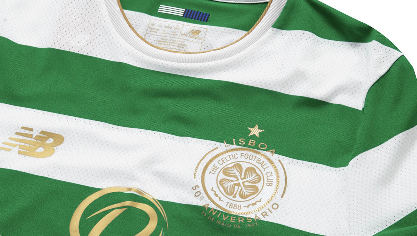 New Balance Launch Celtic 17 18 Home Kit - SoccerBible d516e9e51