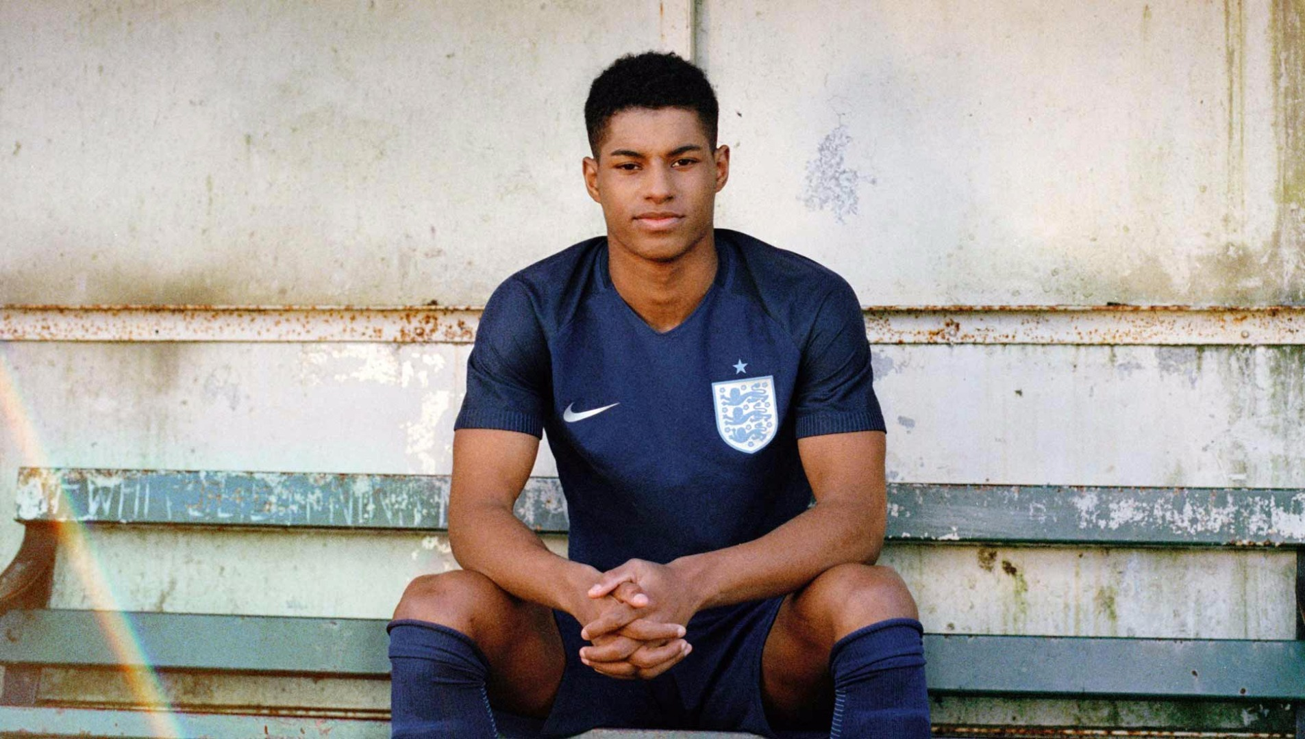 Nike Launch Navy Blue England Away Kit With Marcus Rashford Soccerbible