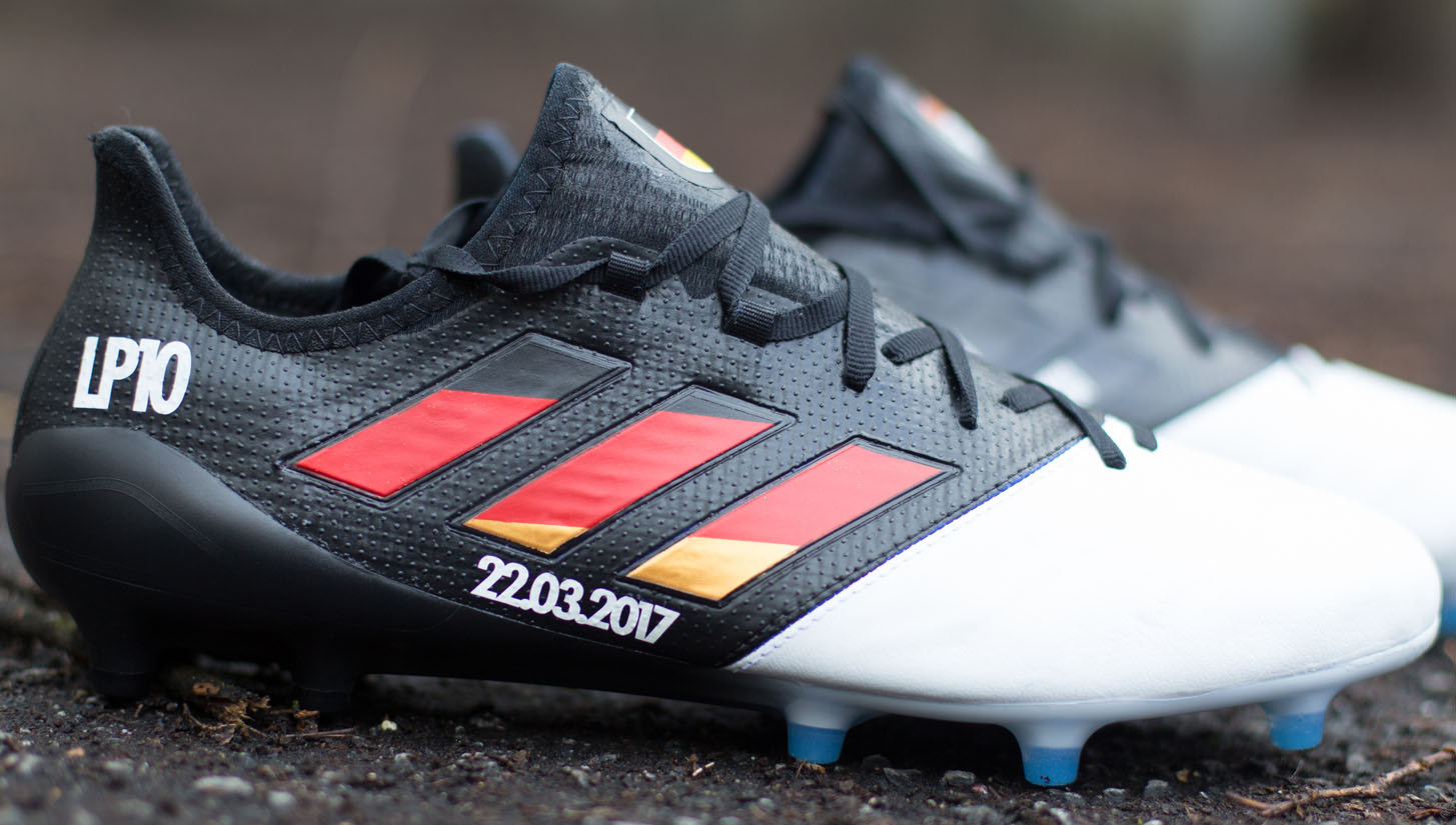 Podolski Custom adidas ACE 17.1 Football Boots - SoccerBible a8dfdaa3c548