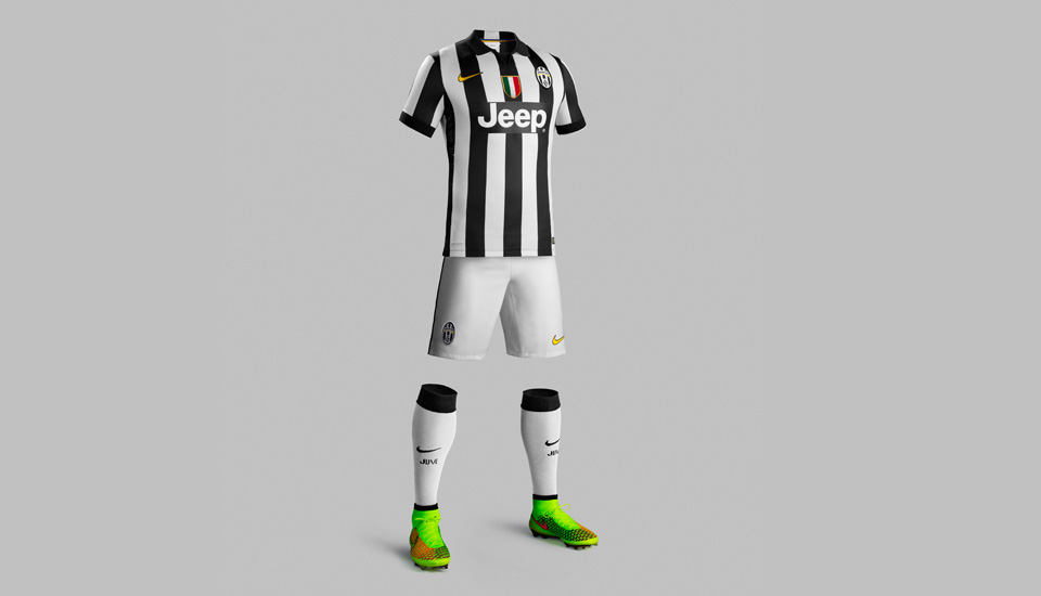 26dad82f5 Nike Juventus Home   Away 14 15 Kits - SoccerBible