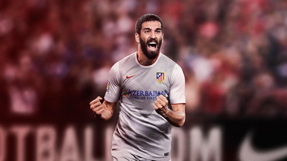 Nike 2014/15 Atletico Madrid Away Kit - SoccerBible