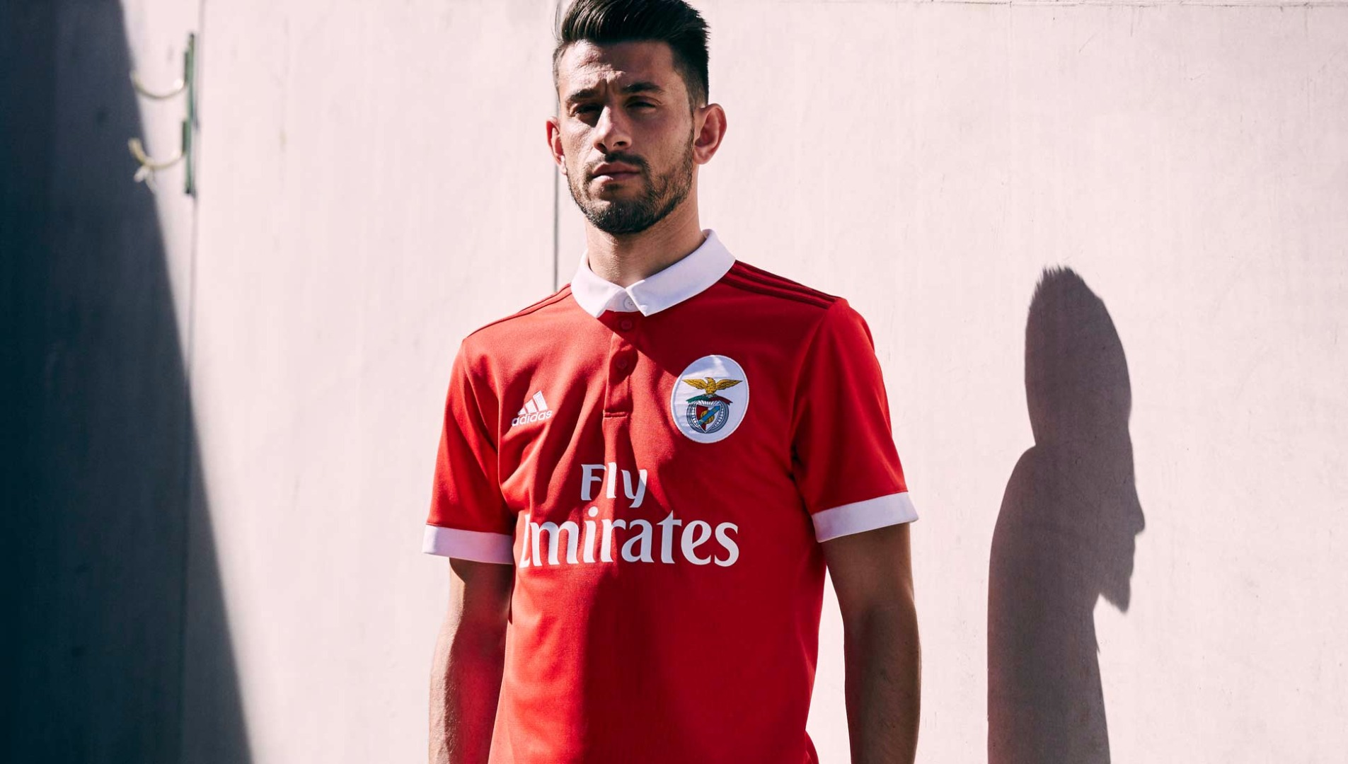 e9beb6f89d0 Benfica 2017 18 adidas Home Shirt - SoccerBible.