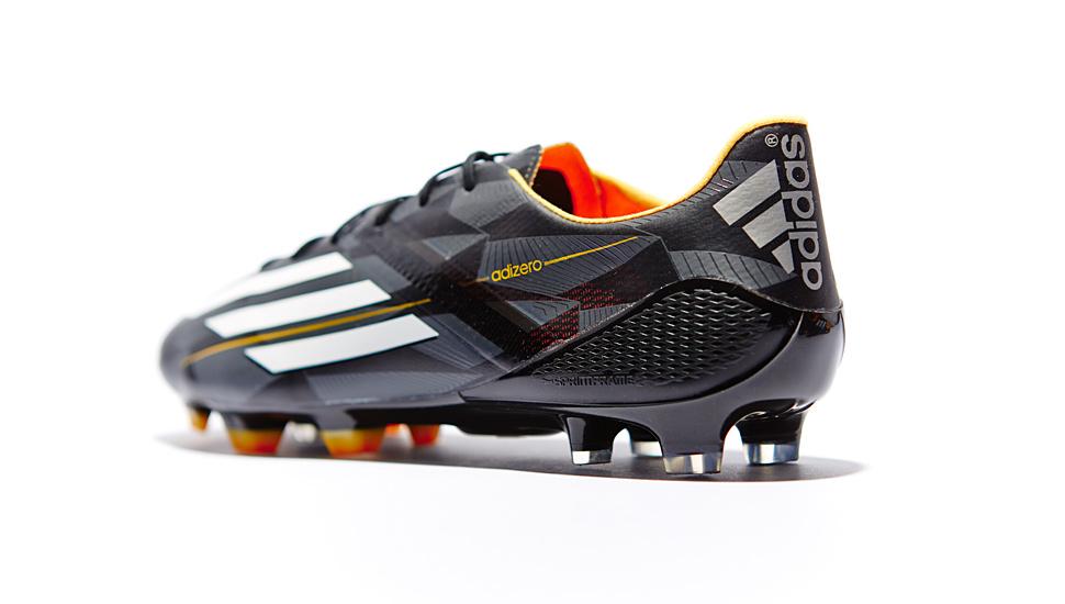 adidas f50 black white neon orange