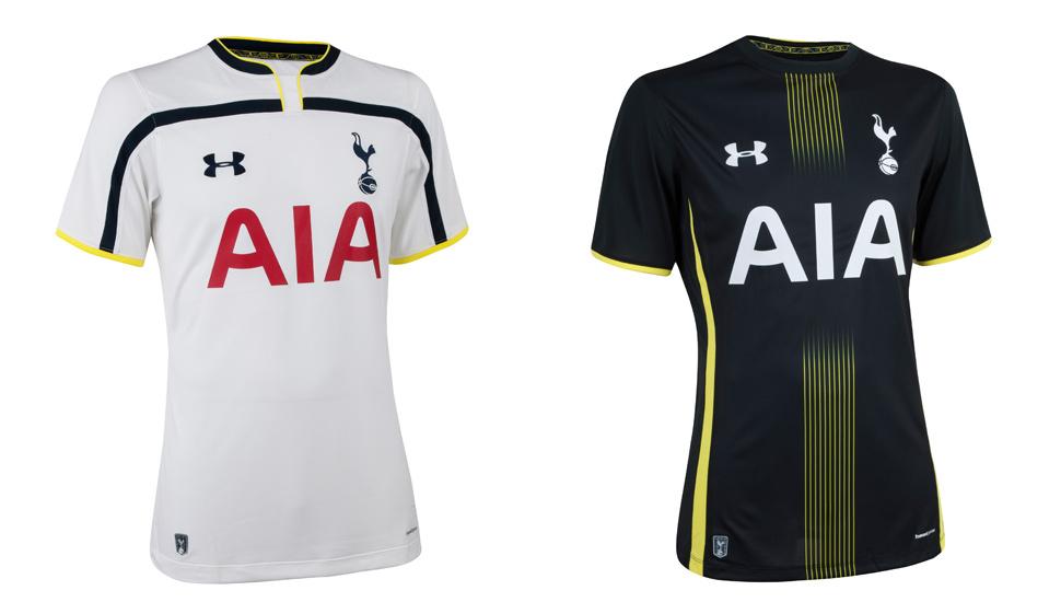 hijo Gracias por tu ayuda constantemente  Under Armour Reveal Spurs 14/15 Kits - SoccerBible