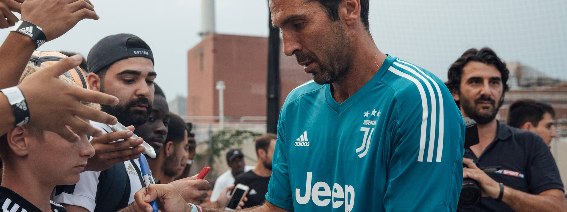 Juventus Take Over adidas Tango League NYC