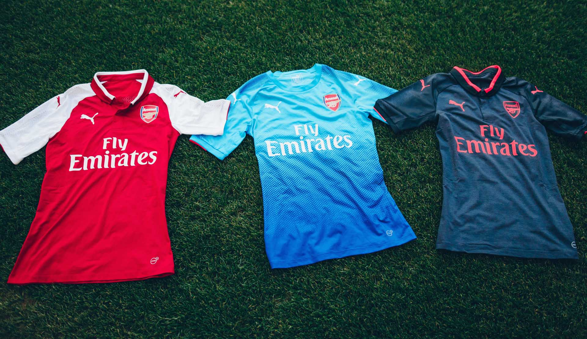 timeless design e1533 45786 Arsenal 2017/18 PUMA Away Shirt - SoccerBible