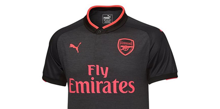 timeless design 151d2 63764 Arsenal 2017/18 PUMA Away Shirt - SoccerBible