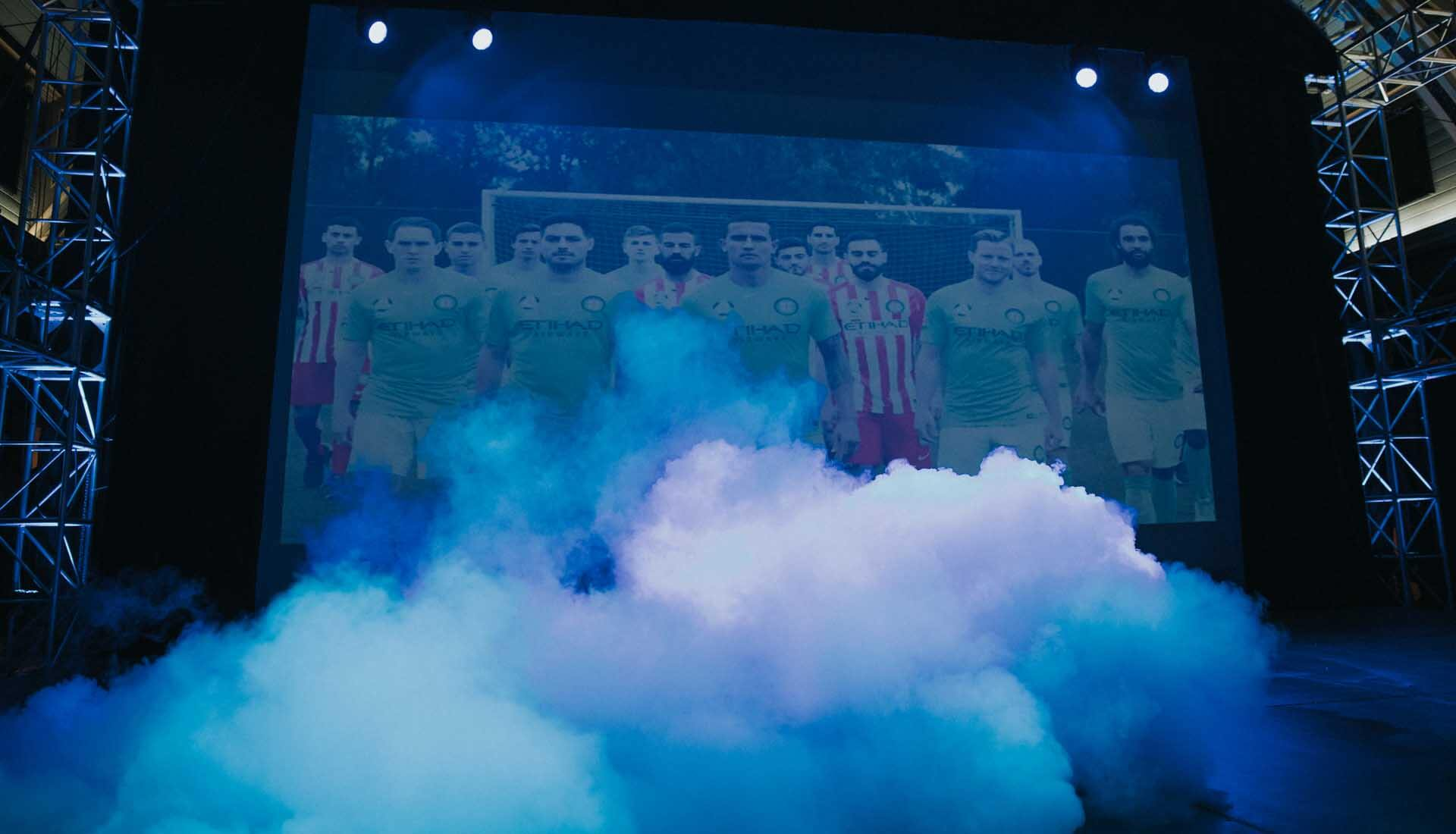 026f7f632dcb Melbourne City 2017 18 Nike Kit Launch Event - SoccerBible