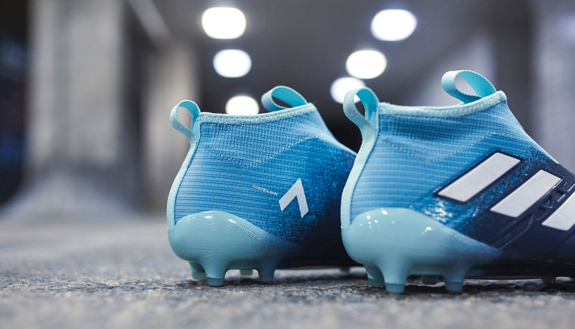 the latest 10744 91299 adidas ACE 17+ Purecontrol Ocean Storm Football Boots ...