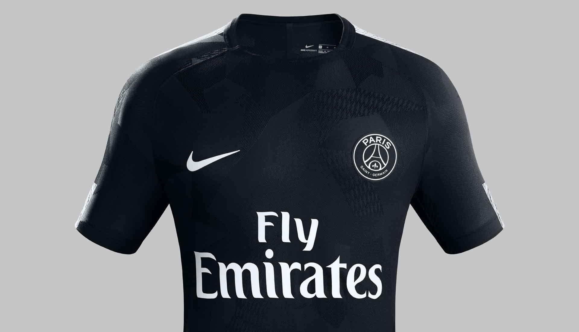 huge selection of 24326 1283c Neymar Reveals PSG 17/18 Nike Third Kit - SoccerBible