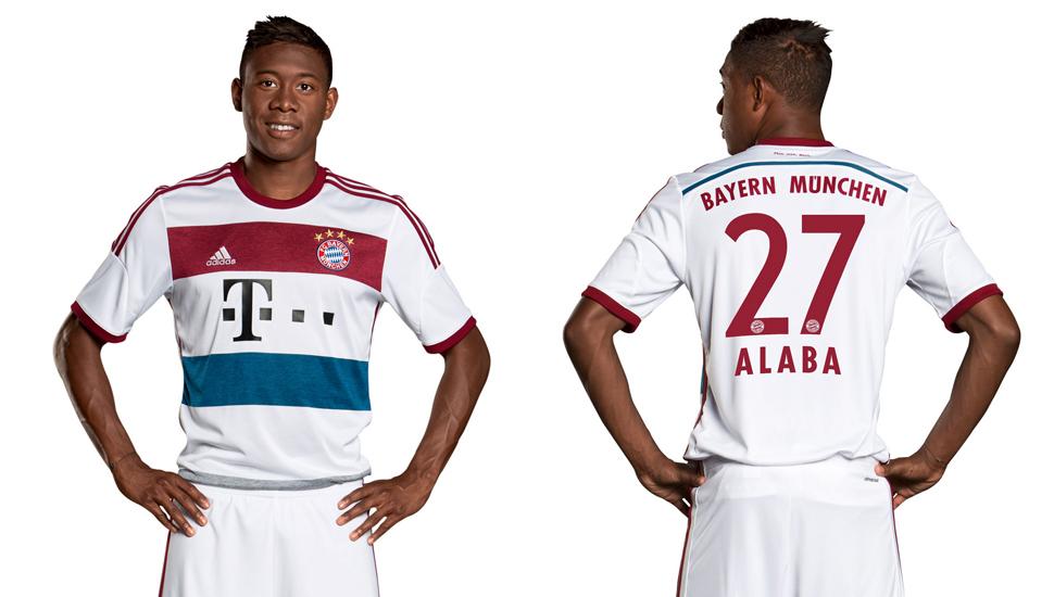 sale retailer 1caba 084a0 adidas Bayern Munich 2014/15 Away kit - SoccerBible