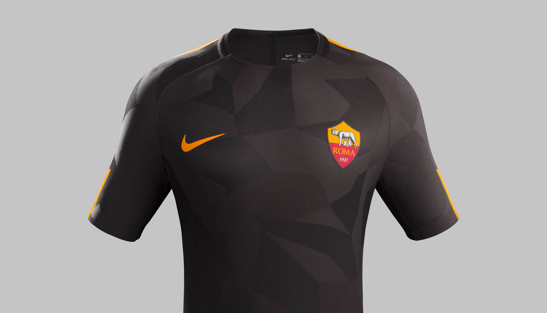 AS Roma 2017 18 3rd Kit by Nike - SoccerBible d82306934