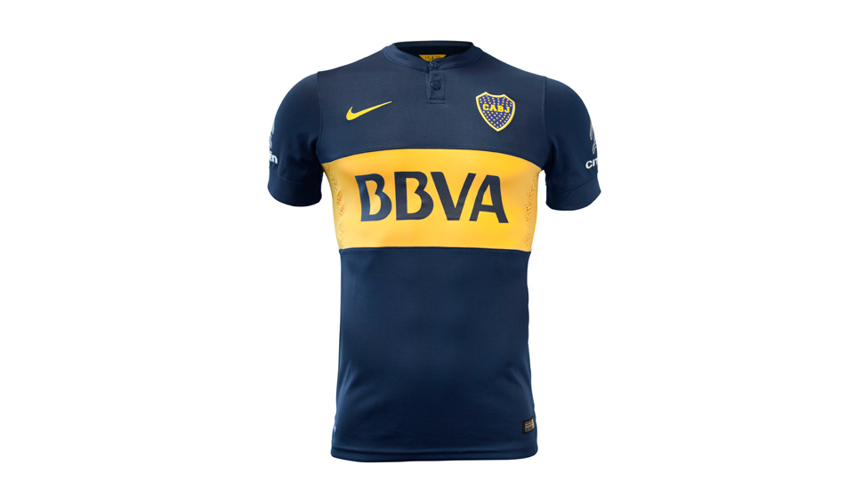 52a2cd3df Nike Boca Juniors 2014 15 Home and Away - SoccerBible