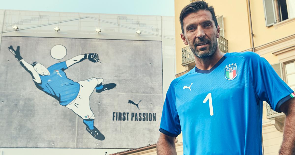 Gigi Buffon To Wear 2018 Italy Home Shirt