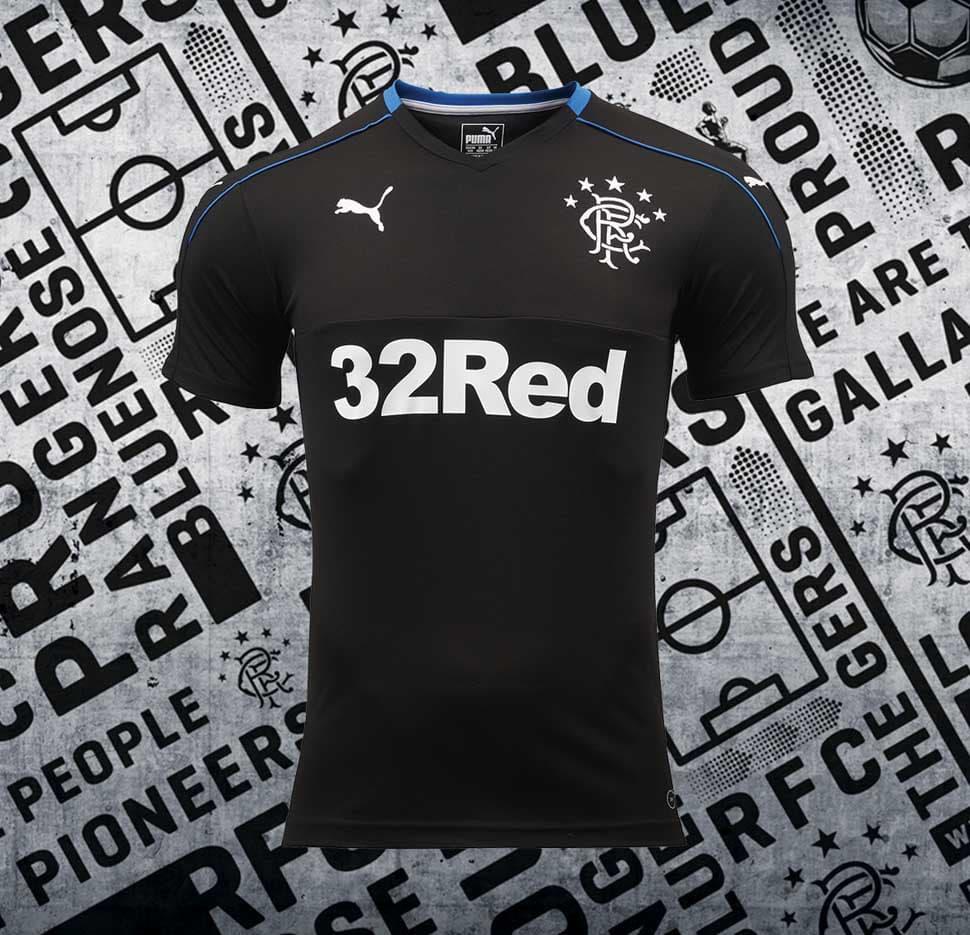 a22dfed6a Rangers 2017 18 PUMA Third Shirt - SoccerBible