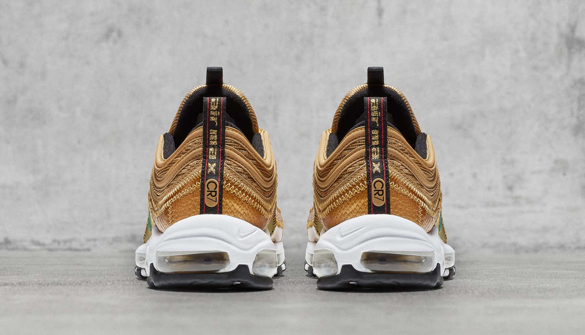226ac18720 Nike Launch The Air Max 97 CR7 Sneakers - SoccerBible
