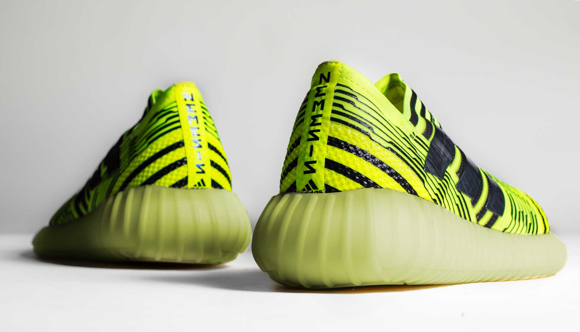 4eaa3a7ee2a0 Nemeziz x YEEZY Boost by the Shoe Surgeon - SoccerBible