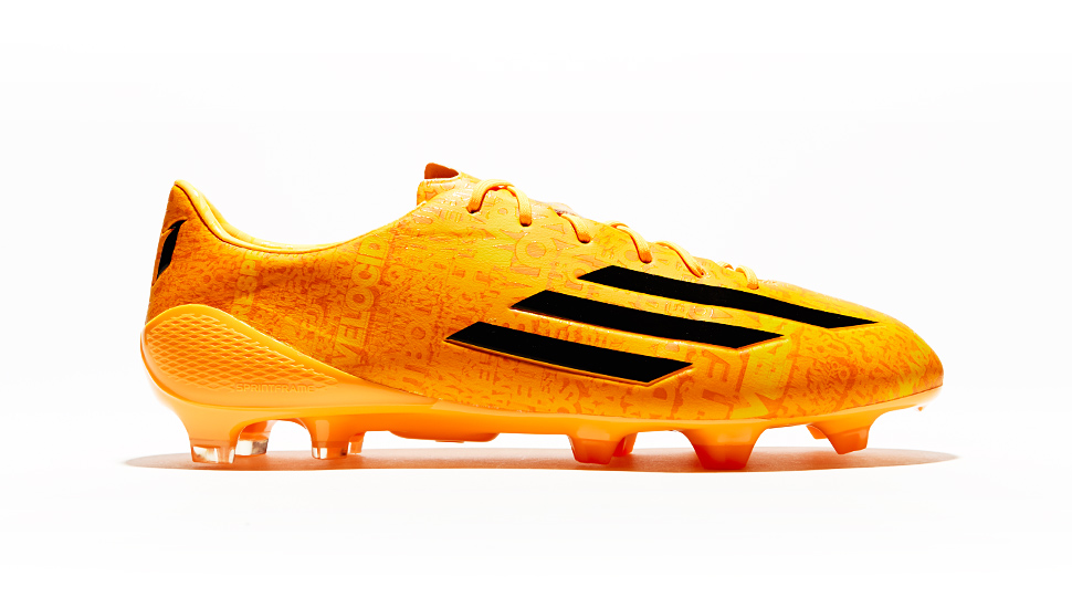 adidas adizero F50 Messi  Neon Orange  - SoccerBible 8321b4bbfb6cc