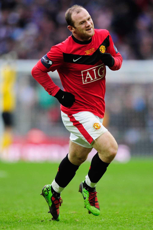 Wayne Rooney's Football Boot Timeline