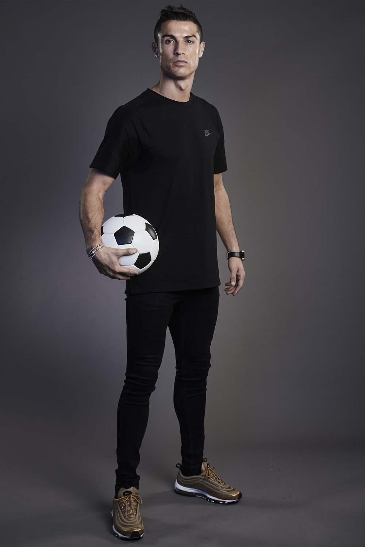 Cristiano Ronaldo Wears Air Max CR7 At FIFA Awards SoccerBible