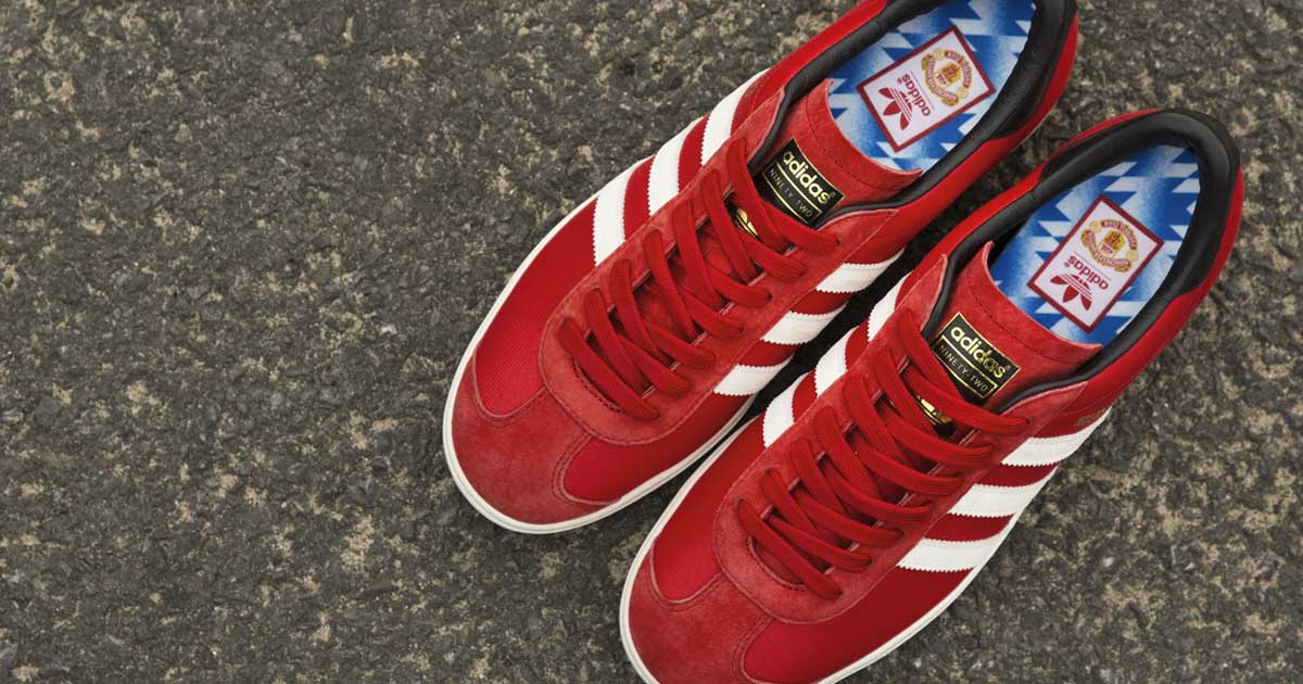 adidas avvia il mufc novantadue scarpa soccerbible