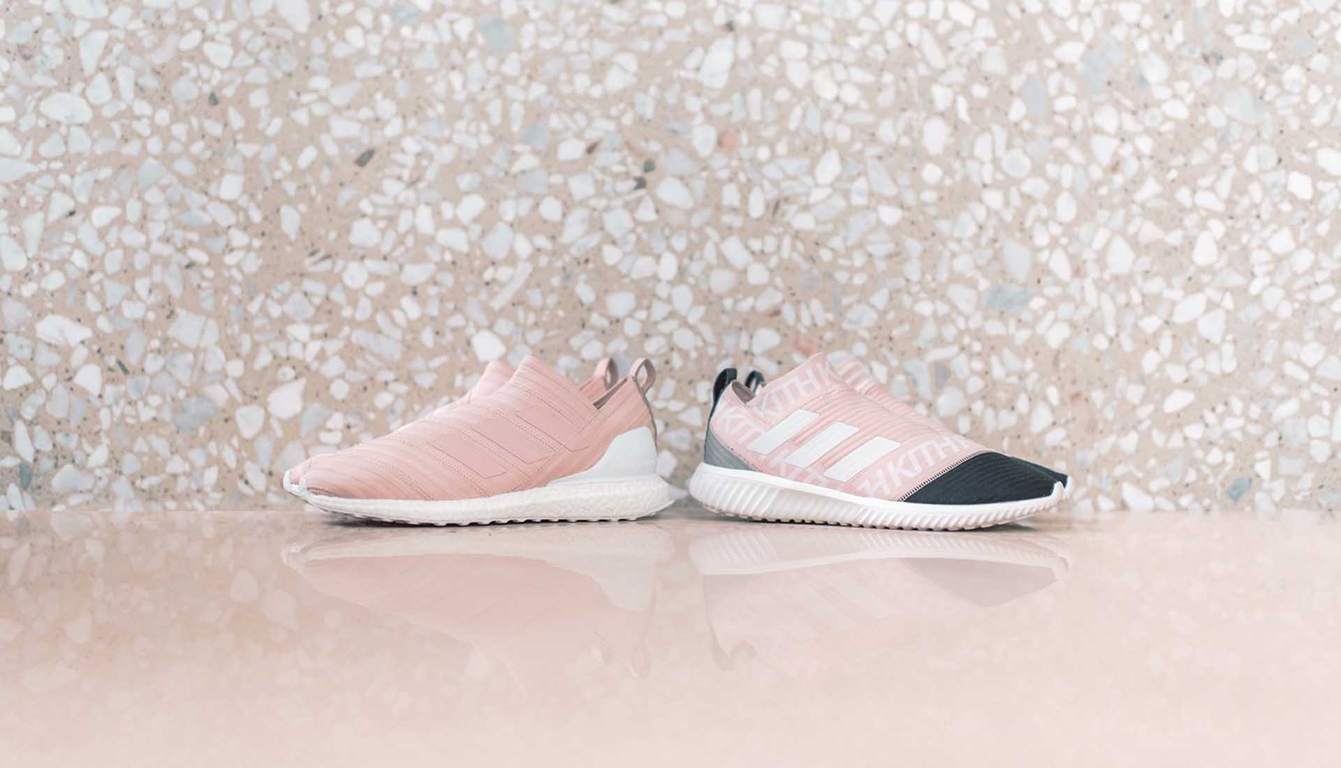 6fb65b78eddd4 KITH x adidas Football Miami Flamingos Lookbook - SoccerBible