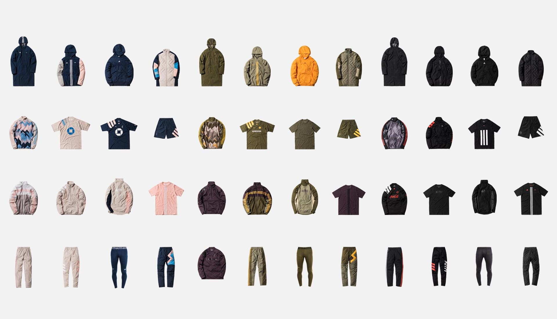 7205cd3f A Look at the Complete KITH x adidas Football Season II Collection ...