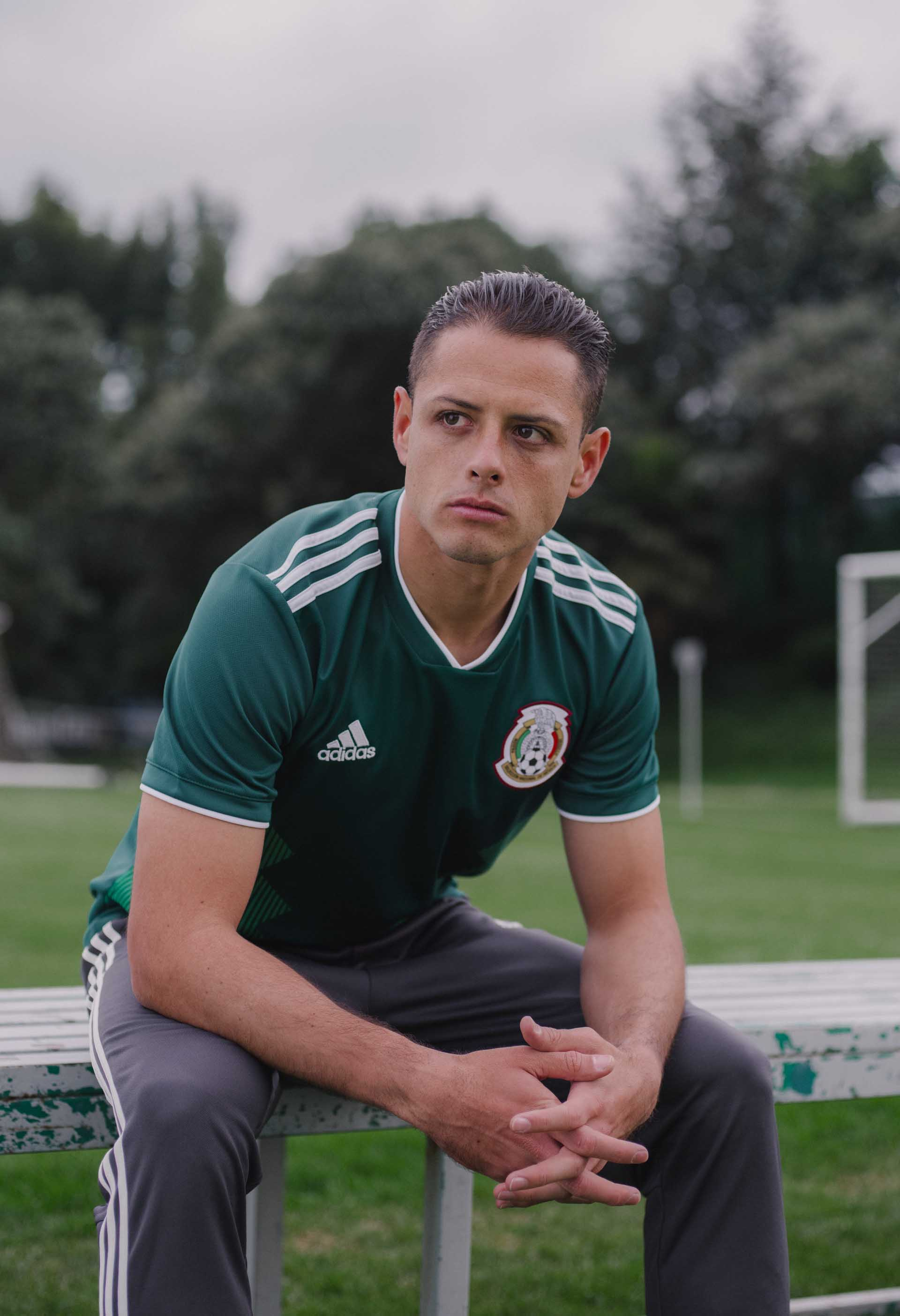 faa92f9d129 Mexico 2018 World Cup adidas Home Shirt - SoccerBible.