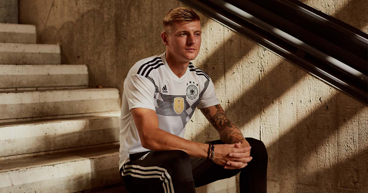 a530454aa Germany 2018 World Cup adidas Home Shirt - SoccerBible