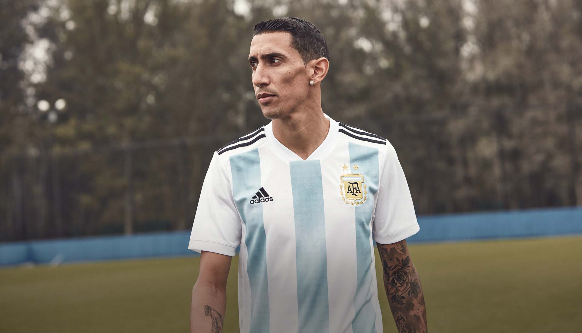 31e395644d2 Argentina 2018 World Cup adidas Home Shirt - SoccerBible