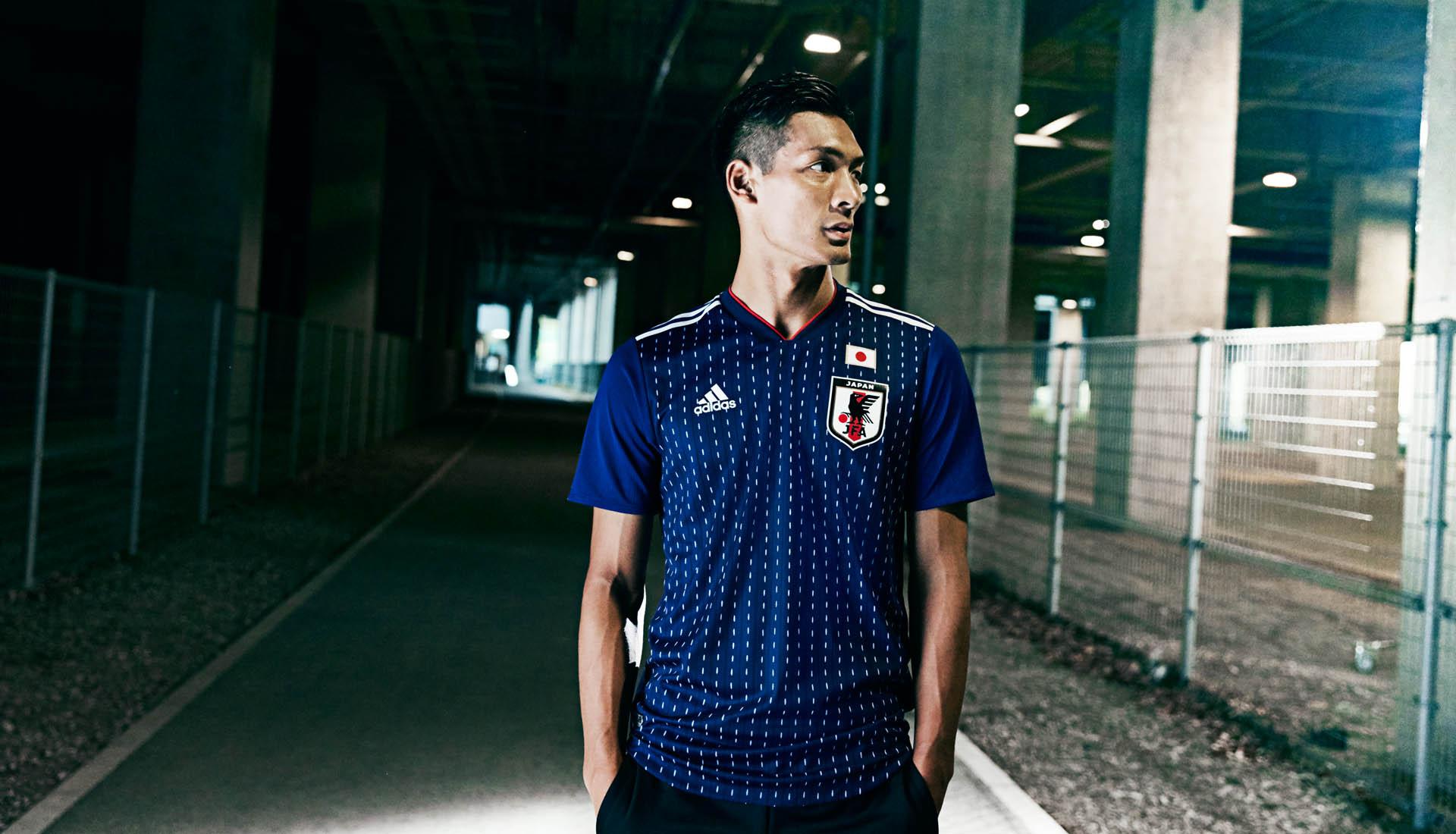 Japan 2018 World Cup adidas Home Shirt - SoccerBible