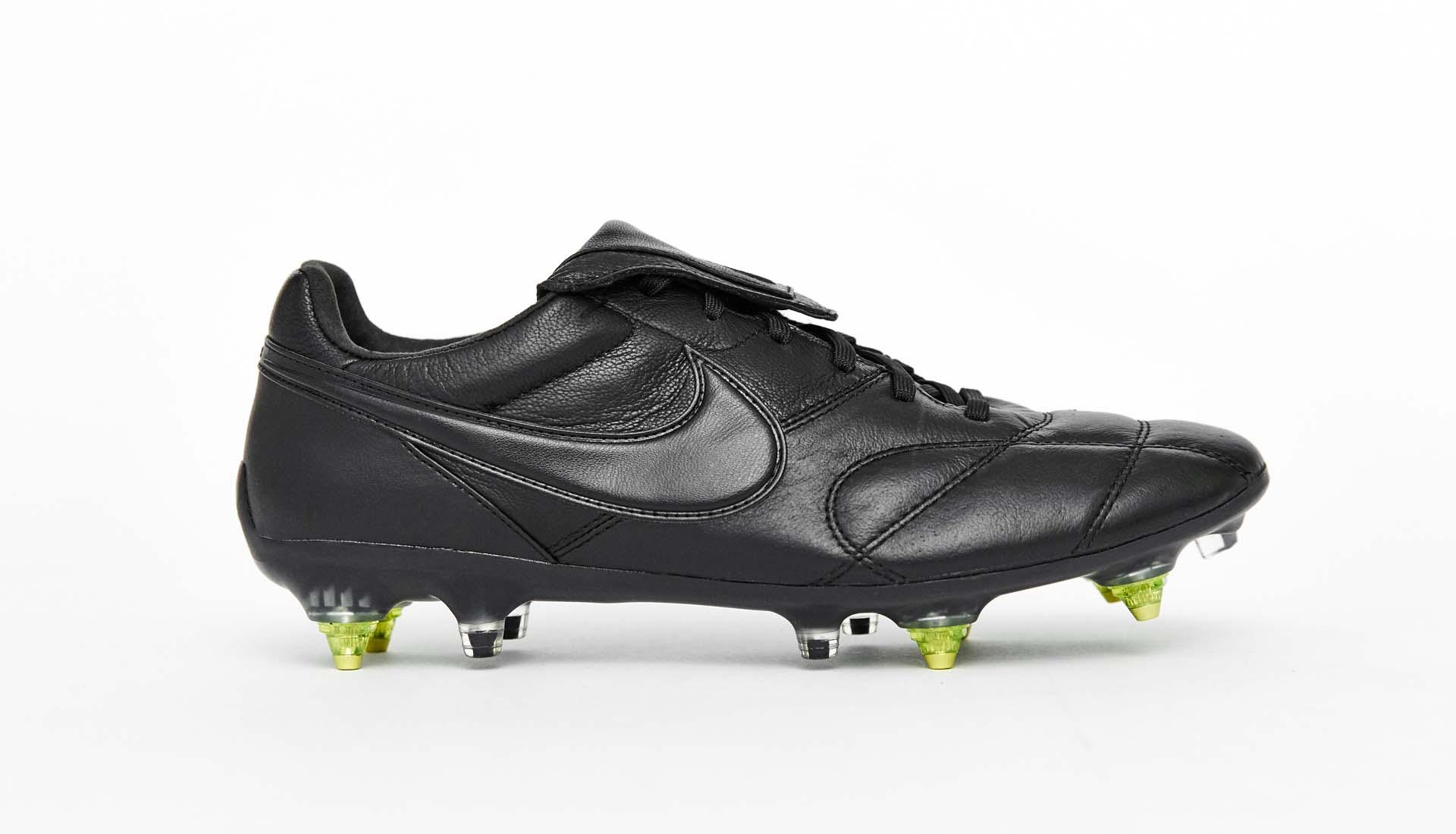ae266afe4 Nike Premier II Anti-Clog Triple Black Football Boots - SoccerBible