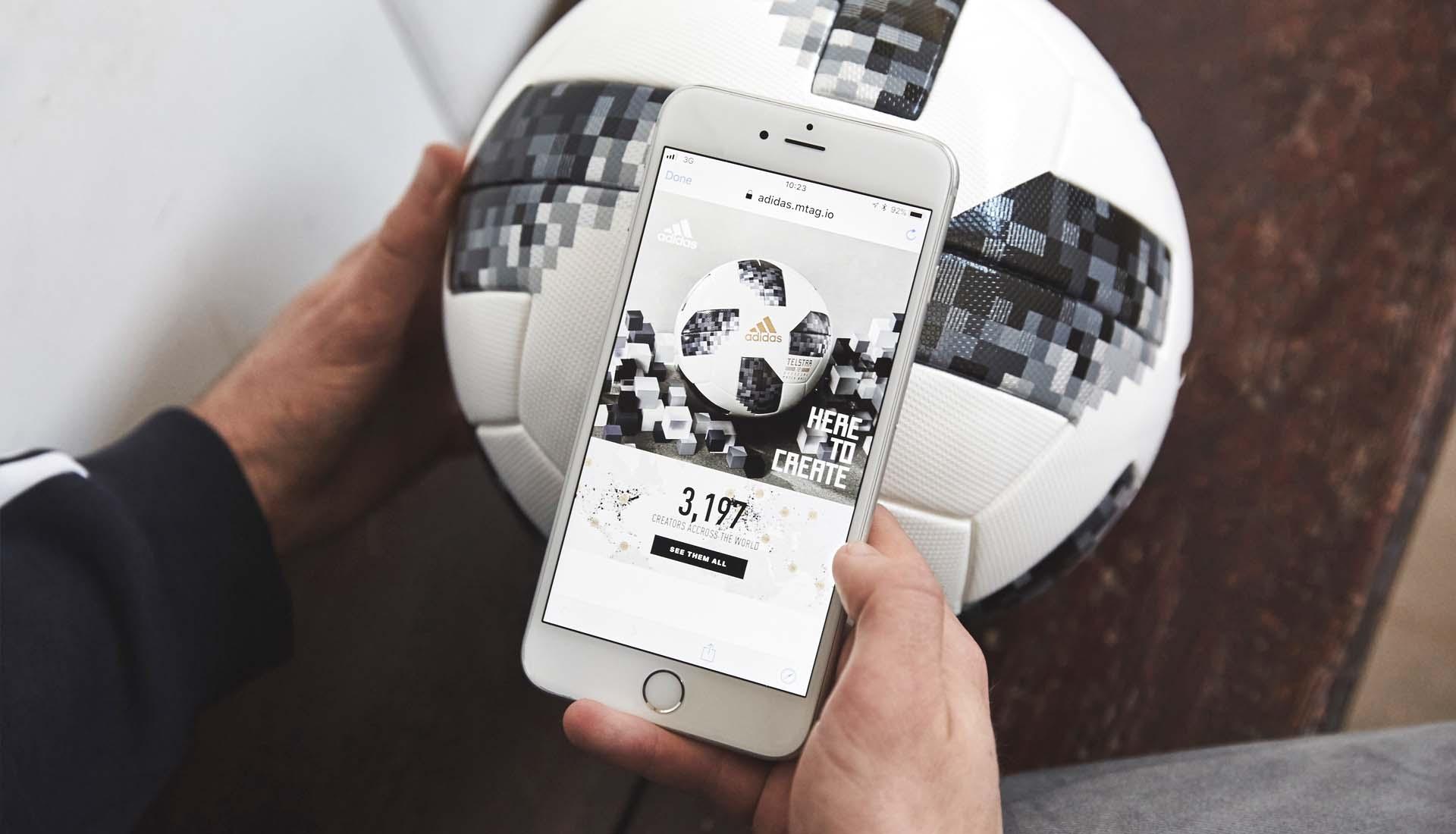 7cdb0b0f852c How Does The NFC Tech In The 2018 adidas Telstar Ball Work ...