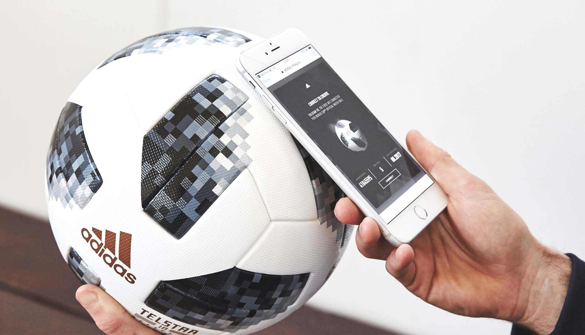 19f9196239 How Does The NFC Tech In The 2018 adidas Telstar Ball Work ...